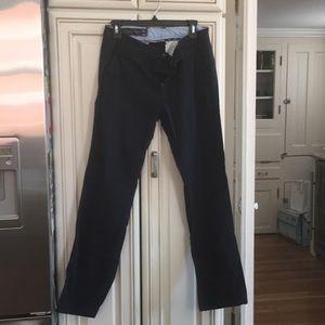 Preowned Armani Exchange 28S/30 Blue Khaki Pants